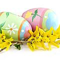 Easter Eggs by Elena Elisseeva