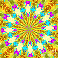 Easter Kaleidoscope  by Donna Brown