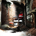 Eastern State Penitentiary - Barber's Chair by Bill Cannon