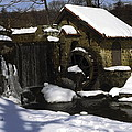 Eastern University Waterwheel Historic Place by Sally Weigand
