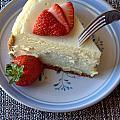 Eating Dessert by Lynnette Johns