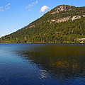Echo Lake Franconia Notch New Hampshire by Nancy Griswold