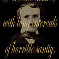 Edgar Allan Poe 2 by Andrew Fare