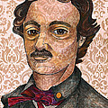 Edgar Allan Poe After The Thompson Daguerreotype by Nancy Mitchell