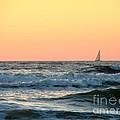 Edge Of The Ocean by Michael Garyet