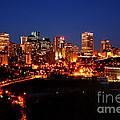 Edmonton Skyline by Rachel Duchesne