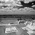 Edzna Ruins Campeche Mexico by John  Mitchell