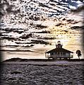 Eerie Lighthouse by Shari Jardina