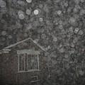 Eerie Spheres In The Night by Guy Ricketts