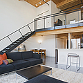 Efficiency Apartment Interior by Ben Sandall