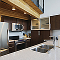 Efficiency Apartment Kitchen by Ben Sandall