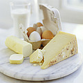 Eggs And Cheese by David Munns