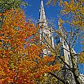 Eglise Saint Jean Baptiste - Sherbrooke by Juergen Weiss