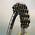 Egypt-montu Rollercoaster At Busch by Richard Nowitz