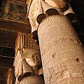 Egypt Temple Of Dendara by Bob Christopher