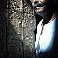 Egyptian Portrait 2 by Bob Christopher