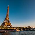 Eiffel Tower And Bridge by (C) Thanachai Wachiraworakam