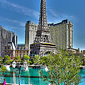 Eiffel Tower And Reflecting Pond by Jack Schultz