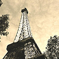 Eiffel Tower At Dusk by Greg Matchick