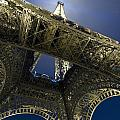 Eiffel Tower At Night,directly Below by Axiom Photographic