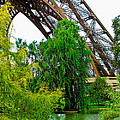 Eiffel Tower Garden by Jim Pruett