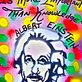 Einstein Imagination by Tony B Conscious