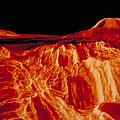 Eistla Regio Of Venus by Nasa