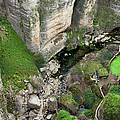 El Tayo River Gorge In Ronda by Artur Bogacki