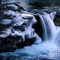Elbow Falls by Bob Christopher