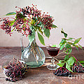 Elderberries 03 by Nailia Schwarz