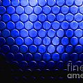 Electric Blue Circle Bumps by Simon Bratt Photography LRPS