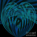 Electric Blue Heart by Anne Kitzman