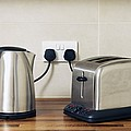Electric Kettle And Toaster by Johnny Greig