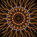 Electric Mandala 3 by Rhonda Barrett