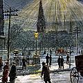 Electric Streetlight, 1881 by Granger