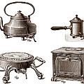 Electrical Appliances, 1900 by Sheila Terry