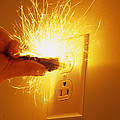 Electrocution Hazard by Alan Sirulnikoff