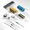 Electronic Components by Tek Image