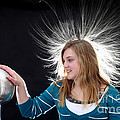Electrostatic Generator, 4 Of 8 by Ted Kinsman