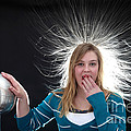 Electrostatic Generator by Ted Kinsman
