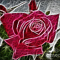 Electrostatic Rose by Barbara Griffin