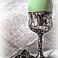 Elegant Green Easter  by Danuta Bennett