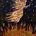 Elemental Earth Angel Of Fire by The Art With A Heart By Charlotte Phillips