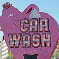 Elephant Car Wash by Randall Weidner