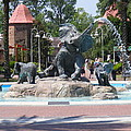 Elephant Fountain by Renee Barnes