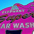Elephant Super Car Wash Boost by Randall Weidner