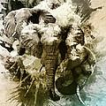 Elephants Gone Wild by Tom Schmidt
