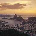 Elevated View Of Rio De Janeiro by Richard Nowitz
