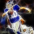 Eli Manning Quarterback by Paul Ward