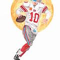 Eli Manning Superbowl Xlvi Mvp by Paul McRae
